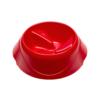Kép 1/7 - FERPLAST Etető,-Itatótál - Műanyag Magnus Slow 0,5l S