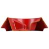 Kép 2/7 - FERPLAST Etető,-Itatótál - Műanyag Magnus Slow 0,5l S