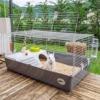 Kép 3/4 - FERPLAST Kisállat Ketrec - Nyúl Rabbit 100 New 97x57x40cm