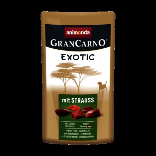 ANIMONDA Kutya Alutasakos - Grancarno Exotic Adult Strucc 125g