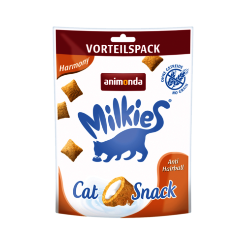 ANIMONDA Macska Jutalomfalat - Milkies Cat Scnack Harmony Anti Hairball