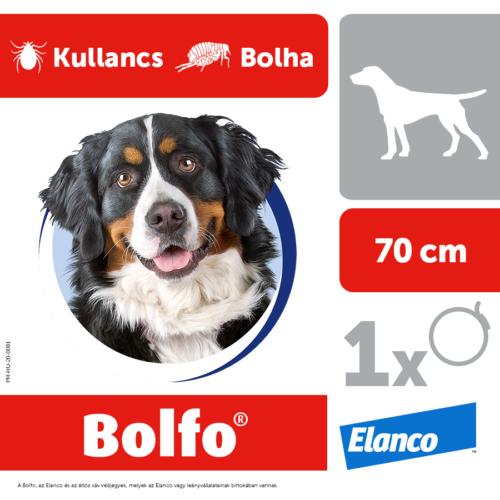 BOLFO Kutya Nyakörv - Bolha Kullancs 70cm