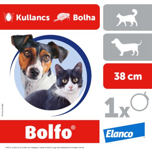 BOLFO Kutya Macska Nyakörv - Bolha Kullancs 38cm