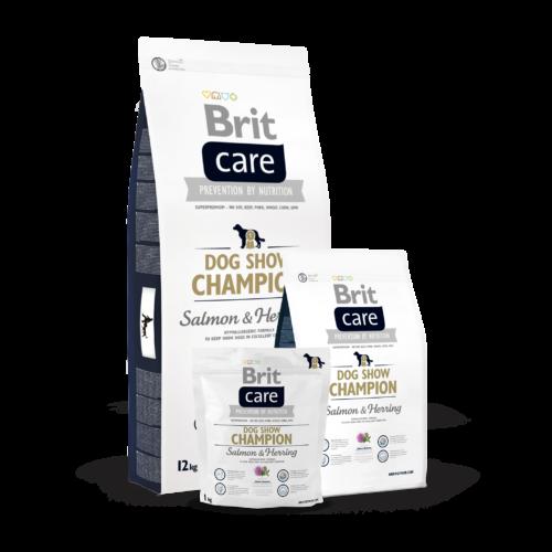 BRIT Care Kutyatáp - Adult Dog Show Champion  1kg
