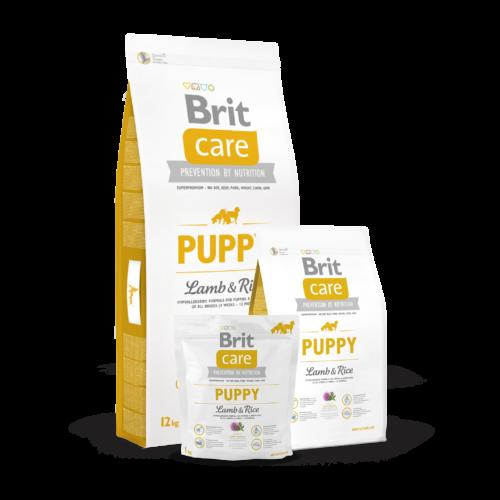 BRIT Care Kutyatáp - Puppy Lamb & Rice  3kg