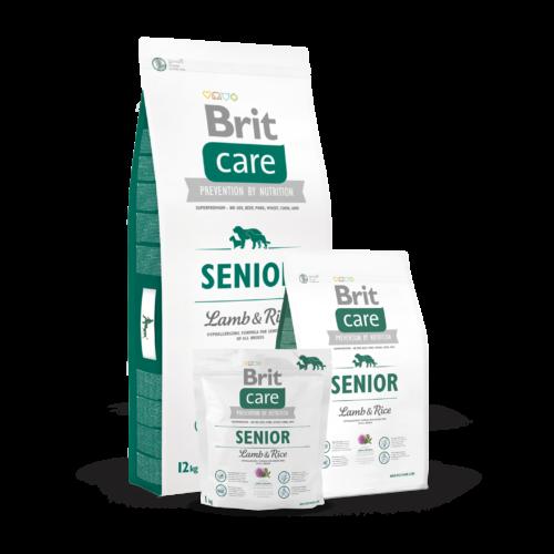 BRIT Care Kutyatáp - Senior Lamb & Rice 12kg