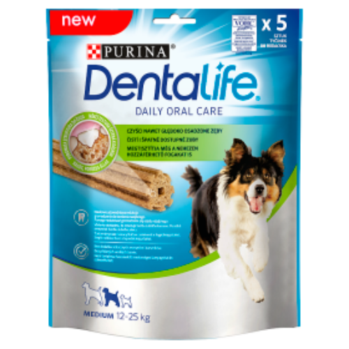 DENTALIFE Kutya Jutalomfalat - Medium 115g
