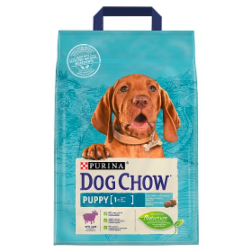DOG CHOW Kutyatáp - Puppy Báránnyal  2,5kg