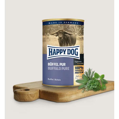 Happy Dog Kutya Konzerv - Büffel Pur (Bivaly) 200g