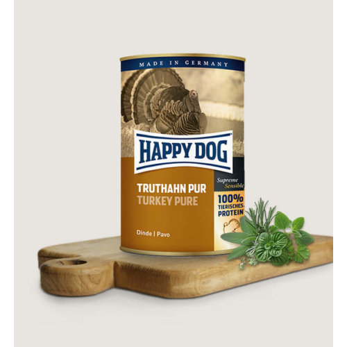 Happy Dog Kutya Konzerv - Truthahn Pur (Pulyka) 800g