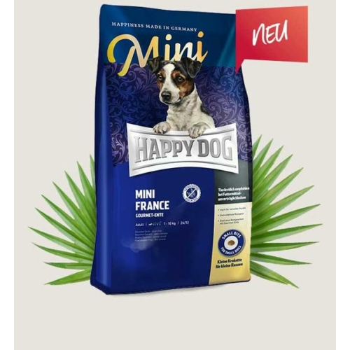 Happy Dog Kutyatáp - Supreme Sensible Mini France   300g