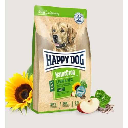 Happy Dog Kutyatáp - Natur Croq Lamm/Reis 15kg