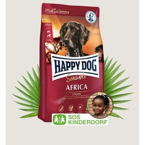 Happy Dog Kutyatáp - Supreme Sensible Africa  4kg