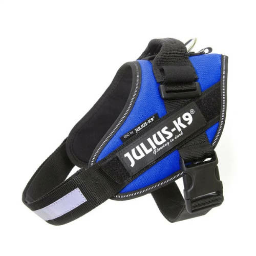 JULIUS-K9 Kutya Hám - IDC Powerhám (33-45cm, 2-5kg) Baby 2. Kék