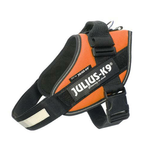 JULIUS-K9 Kutya Hám - IDC Powerhám (40-53cm, 4-7kg) Mini-Mini UV Narancs
