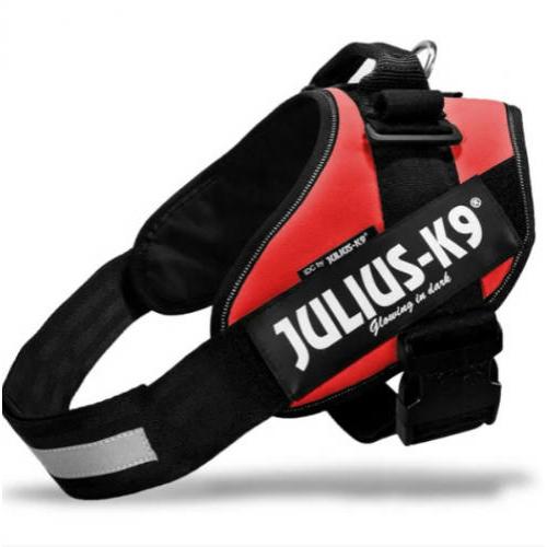 JULIUS-K9 Kutya Hám - IDC Powerhám (71-96cm, 28-40kg) 2 Piros
