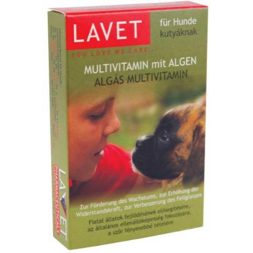LAVET Kutya Vitamin - Alga Tabletta 50db