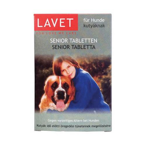 LAVET Kutya Vitamin - Senior Tabletta 50db