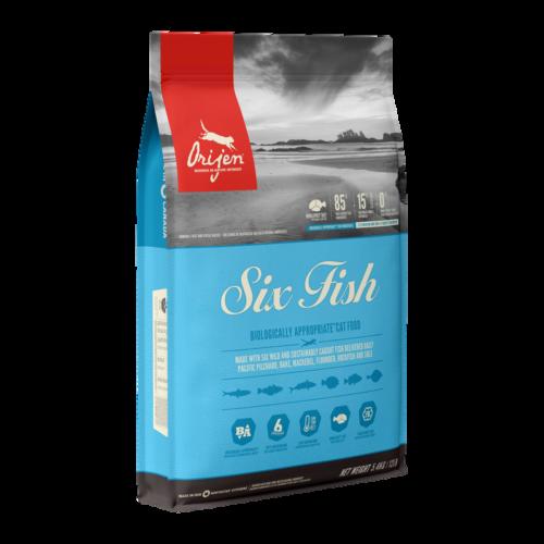 ORIJEN Macskatáp - Six Fish 1,8kg