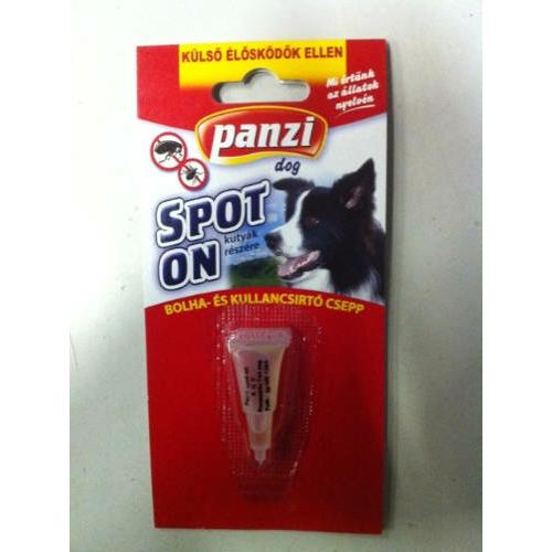 PANZI Kutya Spot On - Bolha- és kullancsírtó csepp 1ml x 1