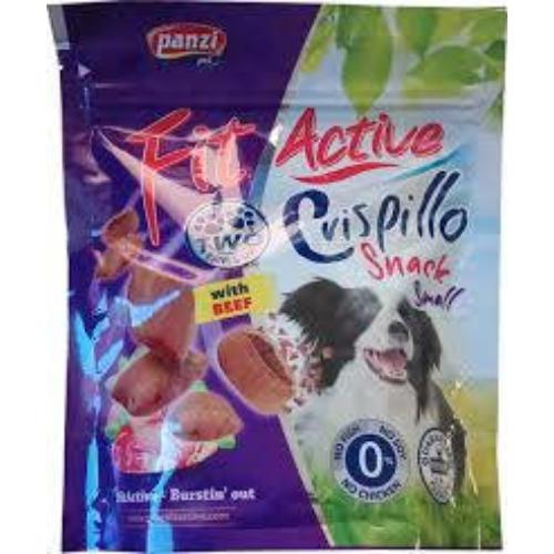 FITACTIVE Kutya Jutalomfalat - Snack Dog Crispillo small 180g
