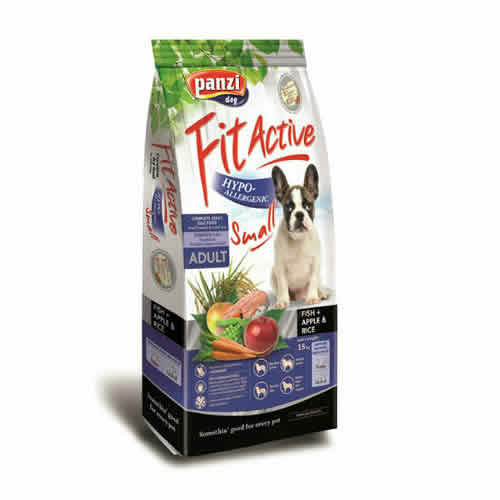 FITACTIVE Kutyatáp - Prémium Hypoallergenic Small Fish 15kg