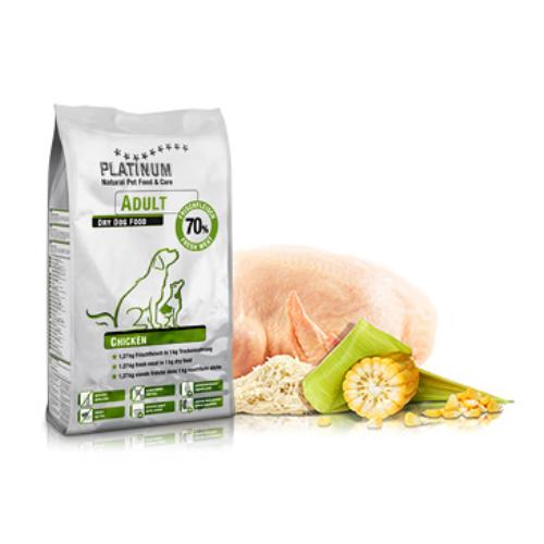 PLATINUM Kutyatáp - Adult Chicken  5kg