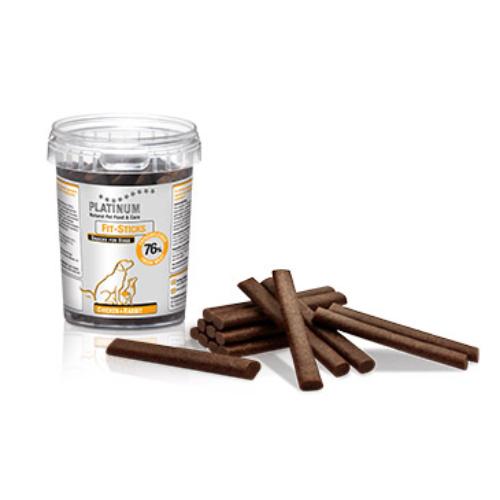 PLATINUM Kutya Jutalomfalat - Fit Sticks Csirke+Nyúl 300gr