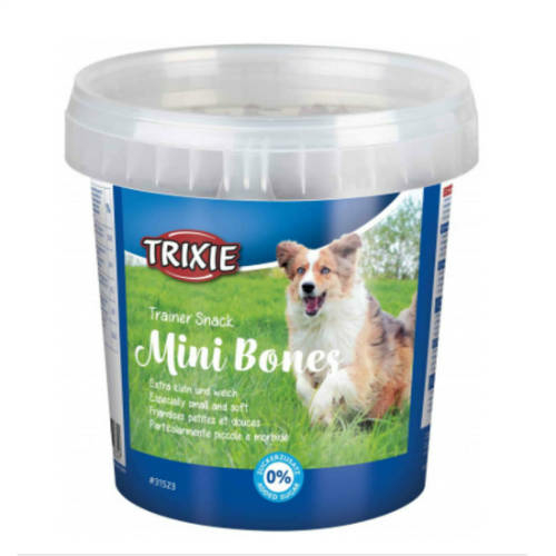 TRIXIE Kutya Jutalomfalat - Trainer Soft Snack Mini Bones 500g