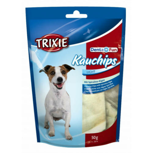 TRIXIE Kutya Jutalomfalat - Marhabőr Chips Spirulinával  50g