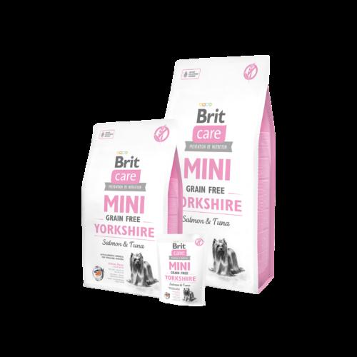 BRIT Care Kutyatáp - Grain Free Mini Adult Yorkshire  400g