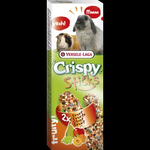 CRISPY Kisállat Jutalomfalat - Rúd 2x Nyúl, Tengerimalac 110g Gyümölcs