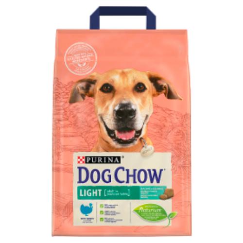 DOG CHOW Kutyatáp - Adult Light Pulykával  2,5kg