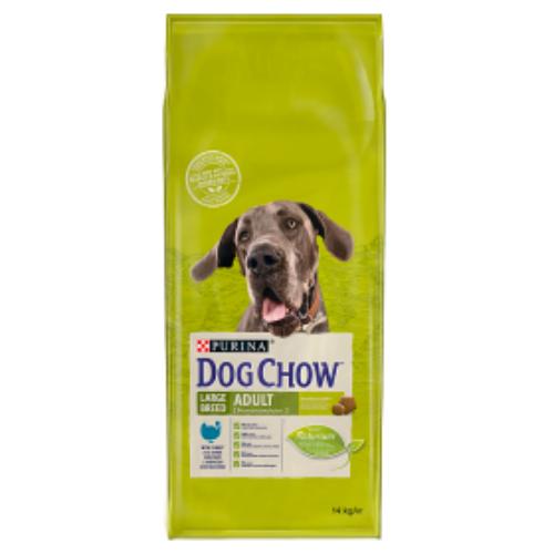 DOG CHOW Kutyatáp - Adult Large Breed Adult Pulykával 14kg