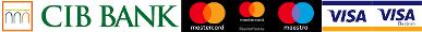 A biztonságos bankkártyás fizetést a CIB Bank biztosítja